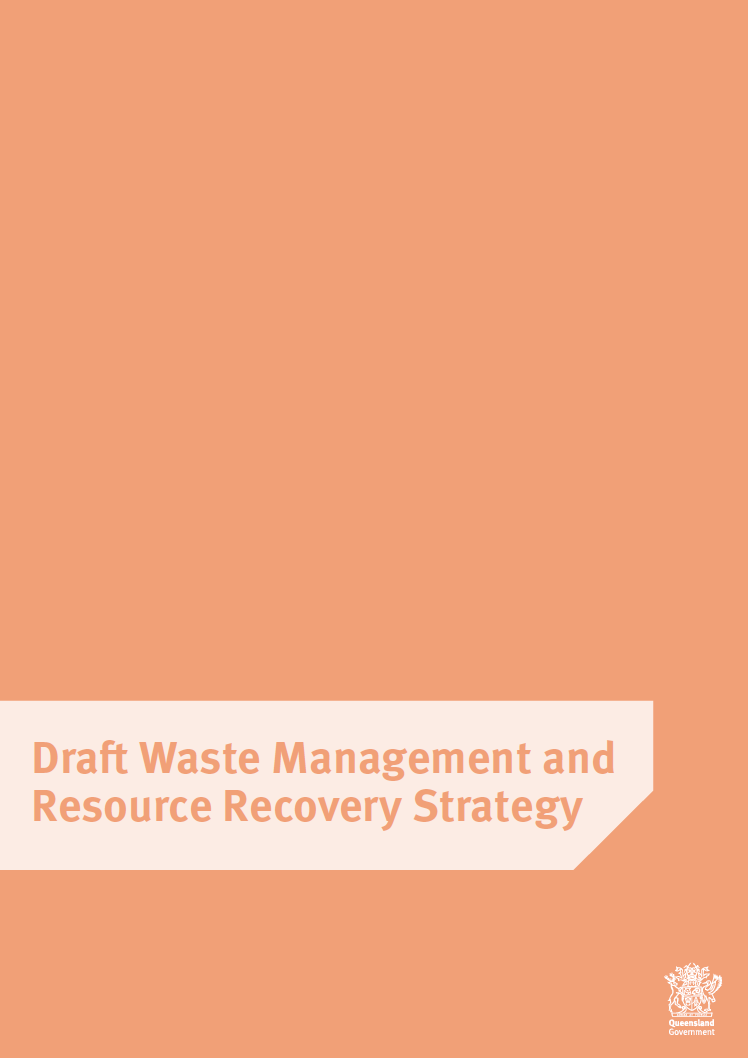 Queensland Waste Management and Resource Recovery Strategy