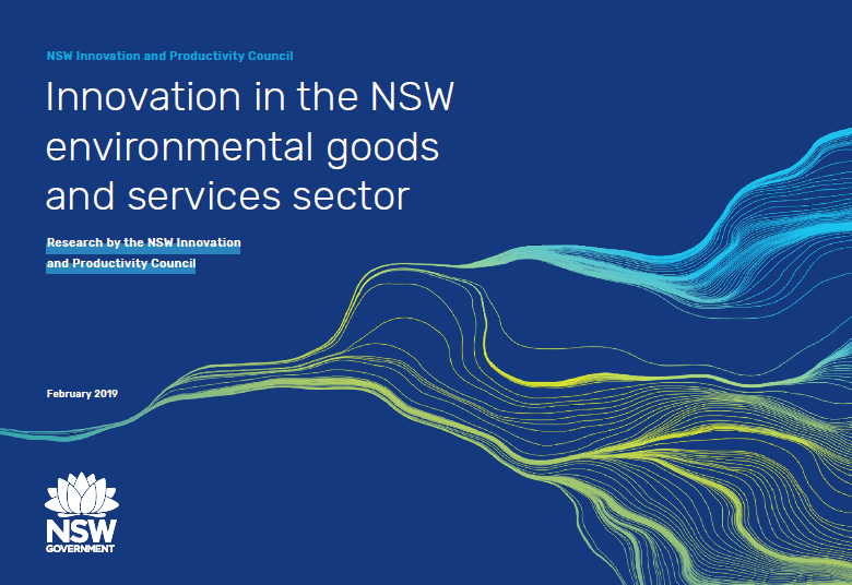 Innovation in the NSW Environmental Goods and Services Sector