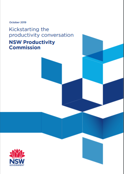 NSW Productivity Commission discussion paper