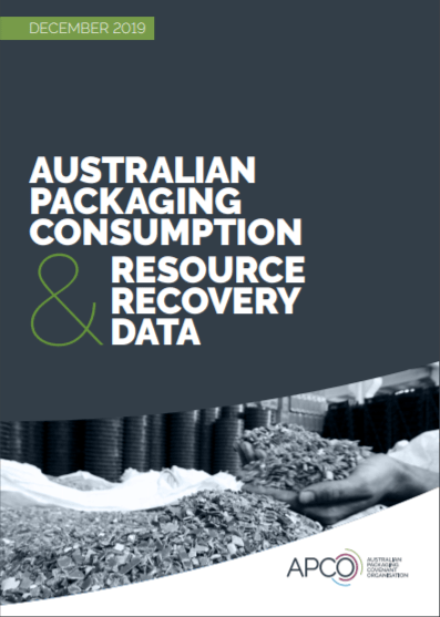 Report on Australian packaging & resource recovery data