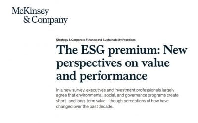 The ESG premium: New perspectives on value