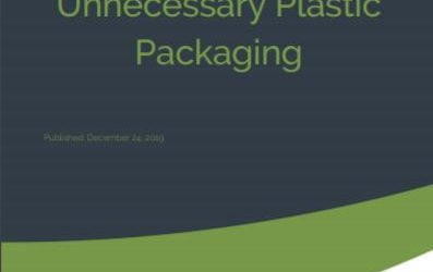 Report on tackling single use plastic