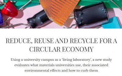 A university aims for its own circular economy