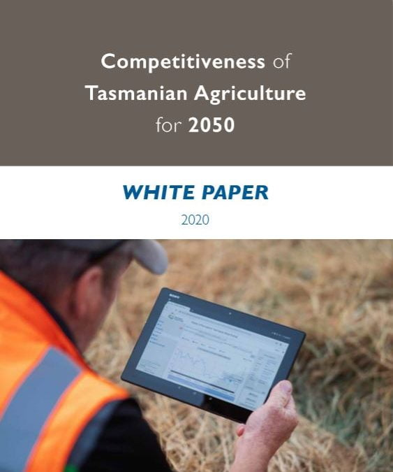 Agriculture white paper based on circular economy