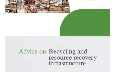 Report on recycling and resource recovery infrastructure