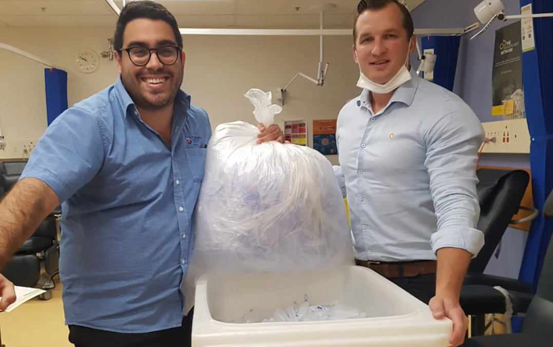 Australia's healthcare system is generating tonnes of COVID waste. Doctors and nurses are trying to do something about it